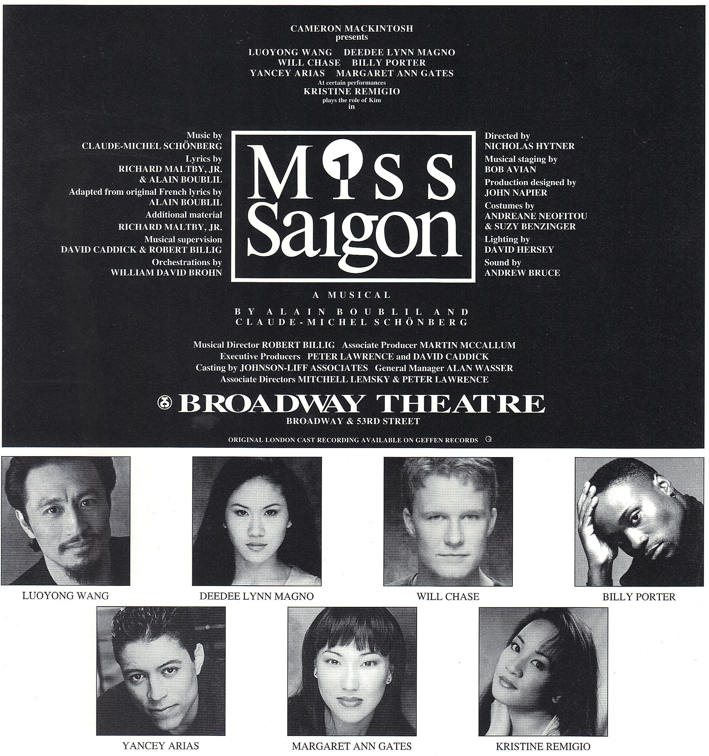 new miss saigon 2014 cast with A Look Back At Broadways Miss Saigon Just Before It Closed As It Opens Again In London on Ashley Gilmour further Eva Noblezada further Bradley Holmes Performance Video On The Voice Ph Season 2 Nov 2 further Dimples Romana Confirmed 2nd Pregnancy as well Miss Saigon Gala Performance Sells Out.