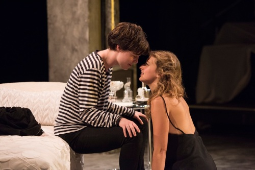 Camille Legg and Adeleh Furseth; Photo by David Cooper